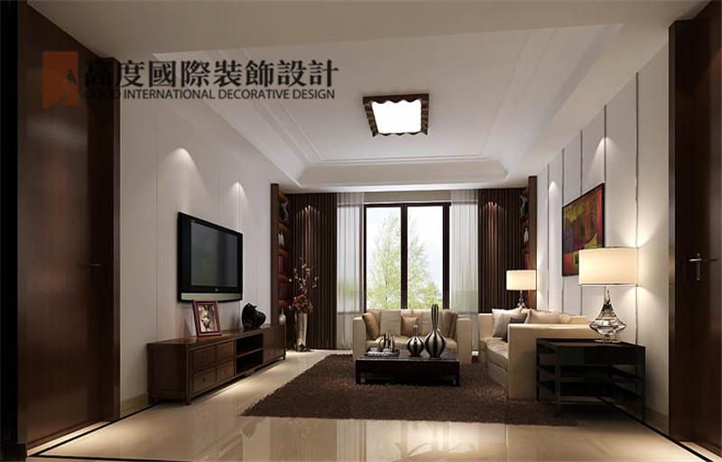简约 装修 设计 案例 效果图 客厅图片来自高度老杨在西山壹号院 200平米 简约的分享