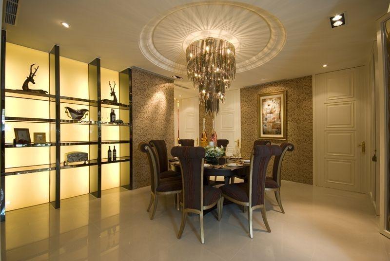 四居 现代混搭 阿拉奇设计 家庭装修 餐厅图片来自阿拉奇设计在摩纳哥风格大户型家庭装修的分享