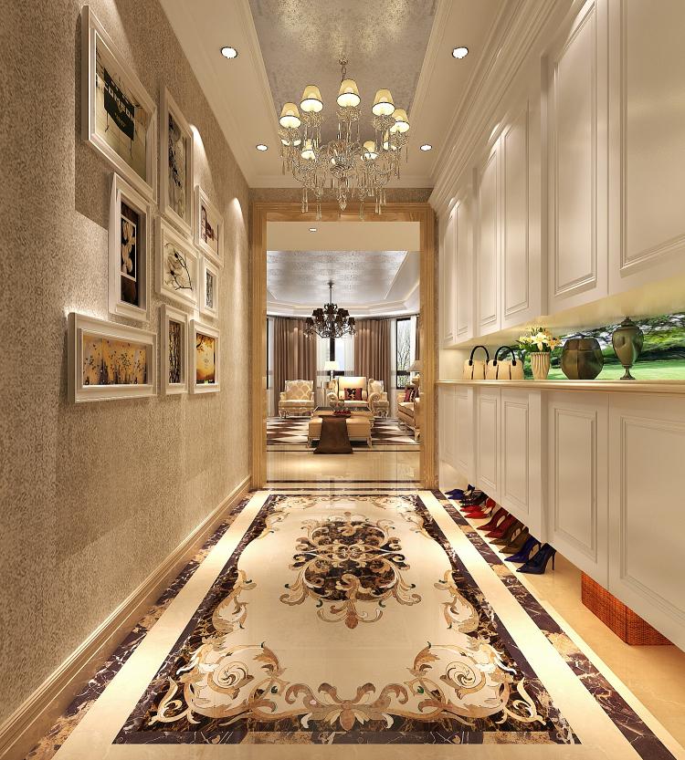 欧式 小资 玄关图片来自高度国际宋书培在绿城百合公寓四居室装饰效果图的分享