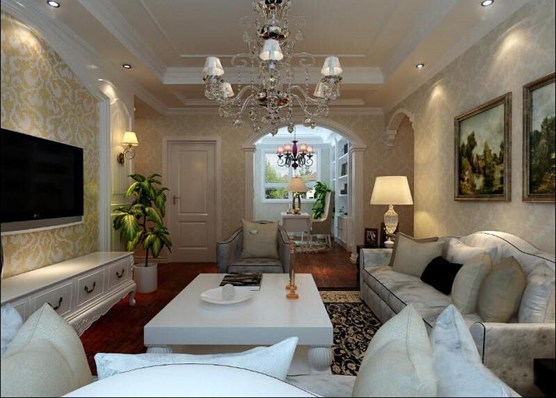 欧式 三居 客厅 卧室 白领图片来自天津联合易墅装饰在欧式风格打造浪漫 惬意的居家的分享