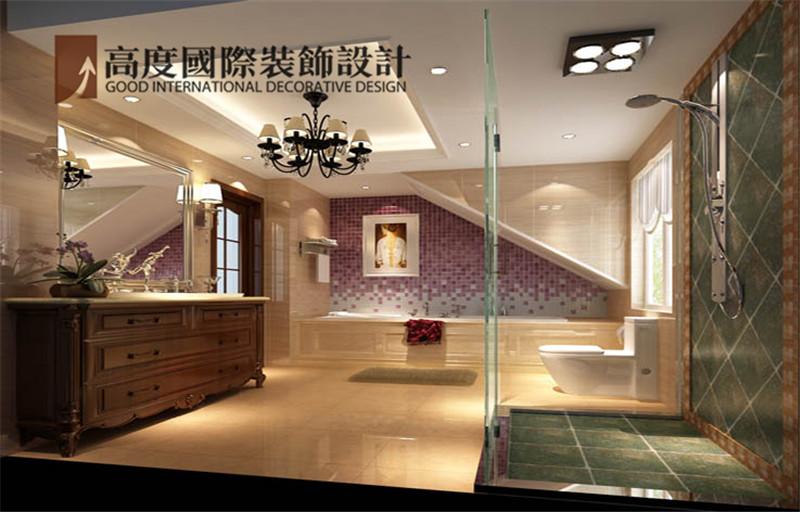 装饰 设计 案例 效果图 卫生间图片来自高度老杨在中景江山赋 200平米 美式的分享
