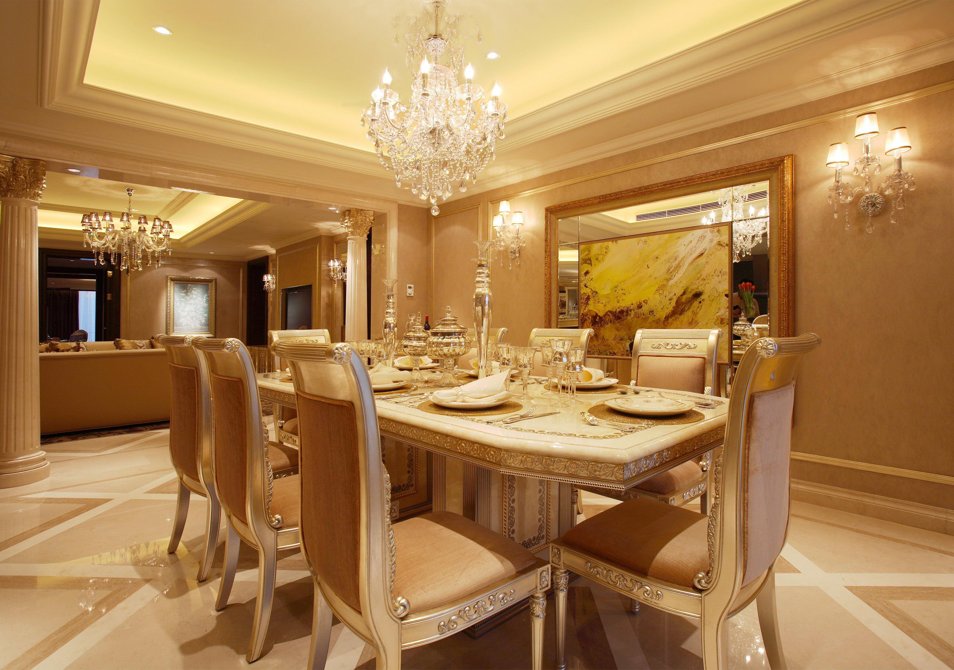 简约 欧式 别墅 餐厅图片来自1043284585x在花水湾同福别墅的分享