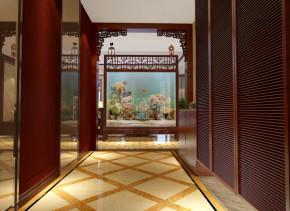 大户型 200平 中式 玄关 其他图片来自实创装饰集团广州公司在古典中式凤凰城的分享