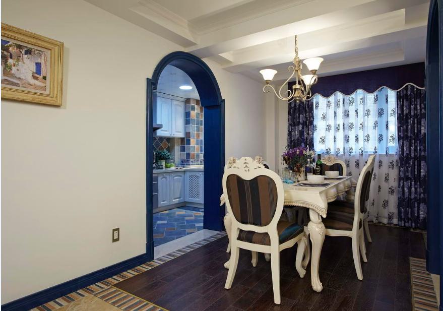 餐厅图片来自唯美装饰在青城158地中海风格鉴赏的分享