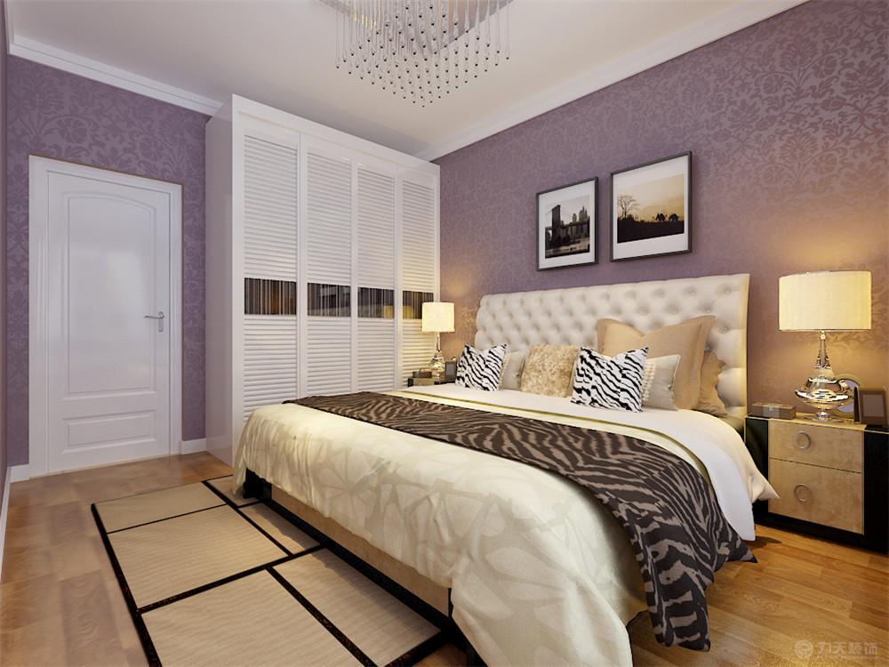 现代 二居 白领 收纳 80后 小资 卧室图片来自阳光力天装饰在旷世新城-89㎡-现代风格的分享