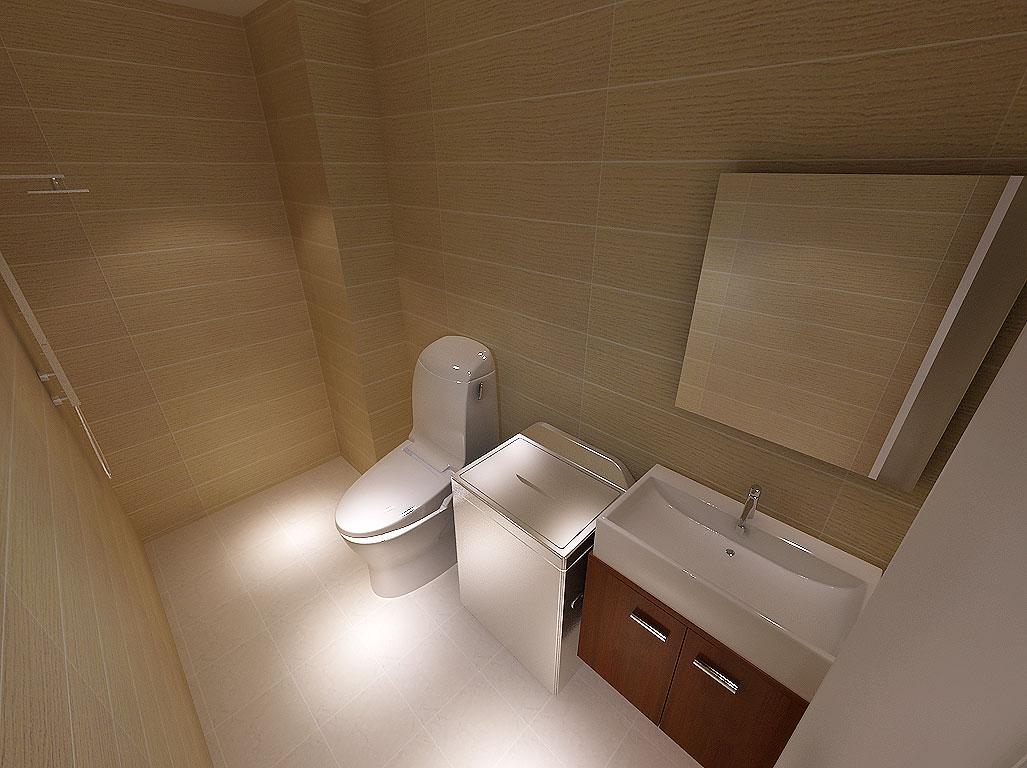简约 二居 卫生间图片来自沈阳新饰家装饰在中粮·隆玺一号75平3.4万的分享