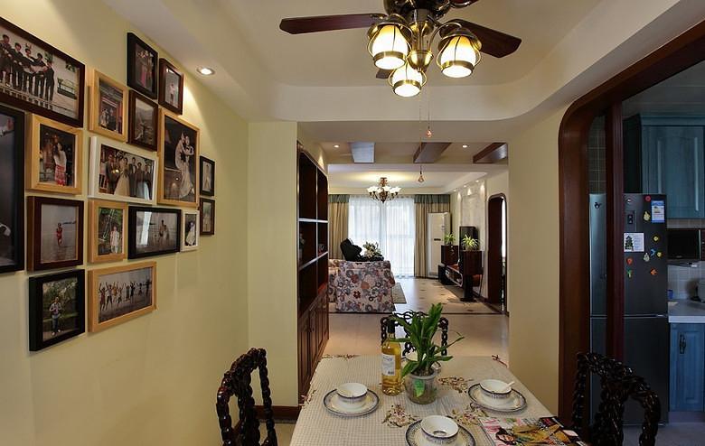 餐厅图片来自家装大管家在132平地中海3居 缔造不一样生活的分享