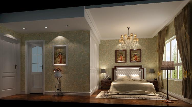 欧式 三居 80后 卧室图片来自高度国际宋书培在龙湖香醍溪岸三居室装饰效果图的分享