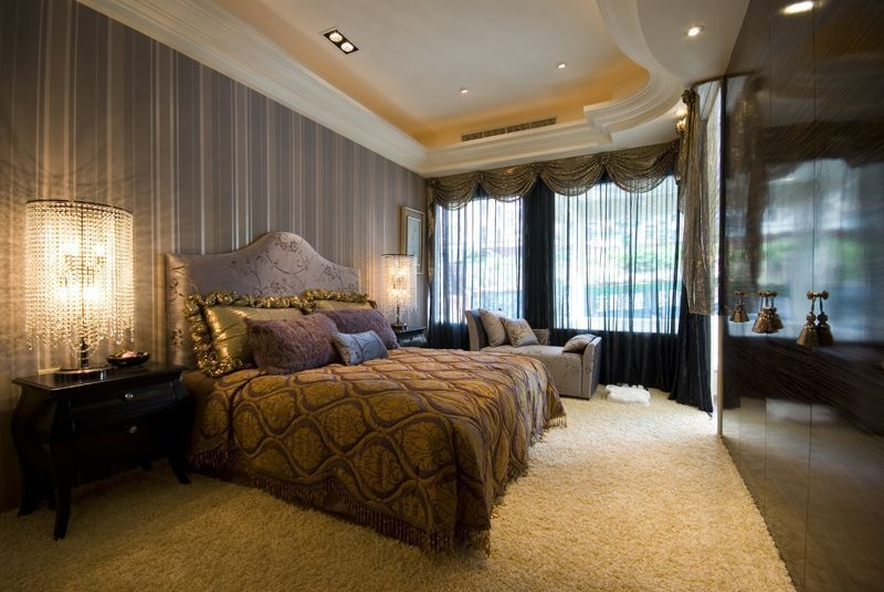 四居 现代混搭 阿拉奇设计 家庭装修 卧室图片来自阿拉奇设计在摩纳哥风格大户型家庭装修的分享