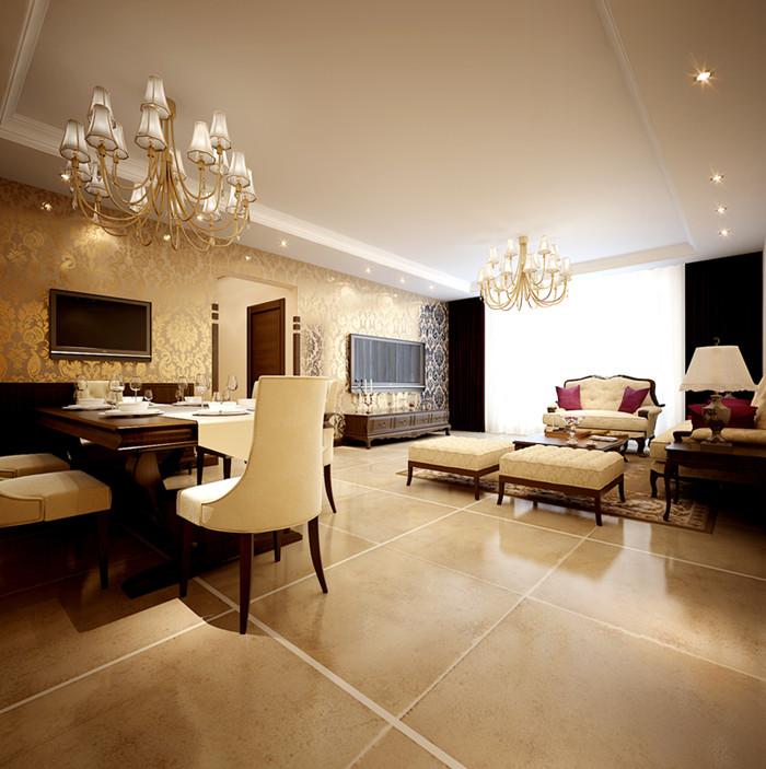 混搭 简约 客厅图片来自今朝装饰李海丹在银领国际的分享