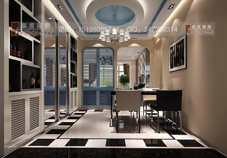 世茂玉锦湾 时尚风格 餐厅图片来自成都高度国际别墅装饰在世茂玉锦湾------时尚现代风格的分享