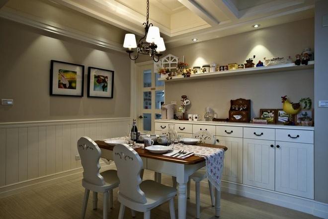 田园 二居 白领 收纳 旧房改造 80后 小资 餐厅图片来自名仕装饰-小飞在田园乡村的分享