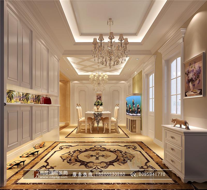 简约 欧式 三居 别墅 80后 小资 餐厅图片来自高度国际家居别墅装饰在欧式风格的分享