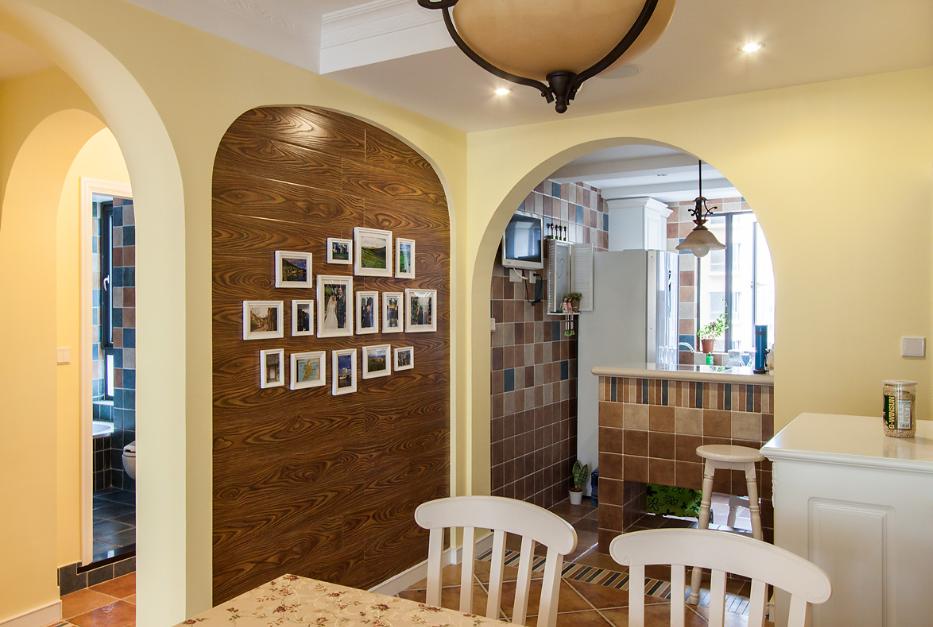 餐厅图片来自唯美装饰在保利时代91平田园风格的分享
