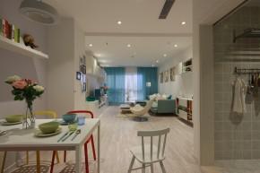 宜家 宜家风格 实创装饰 两居室 80后 小资 餐厅图片来自北京实创装饰在实景样板间宜家风格2居室装修的分享