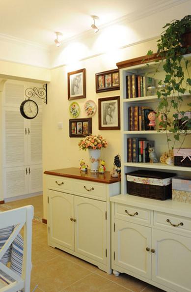 田园 二居 书房图片来自百合居装饰工程有限公司在浪漫田园--理工东苑的分享