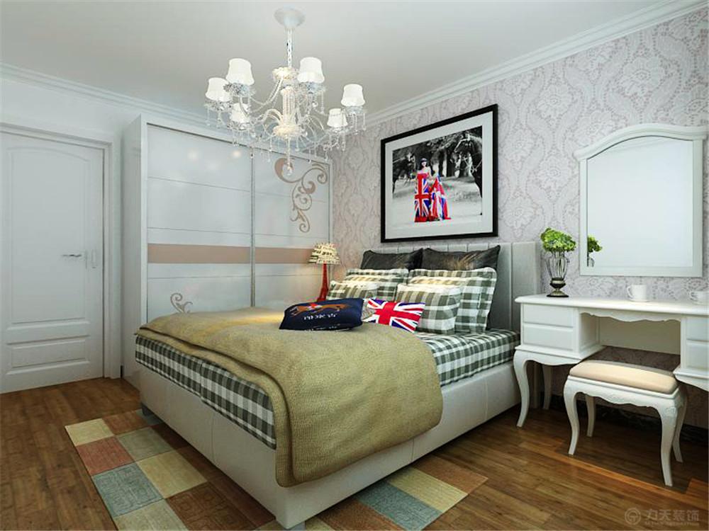 混搭 现代 一居 收纳 白领 80后 小资 卧室图片来自阳光力天装饰在珑著花园-61㎡-美式现代混搭的分享