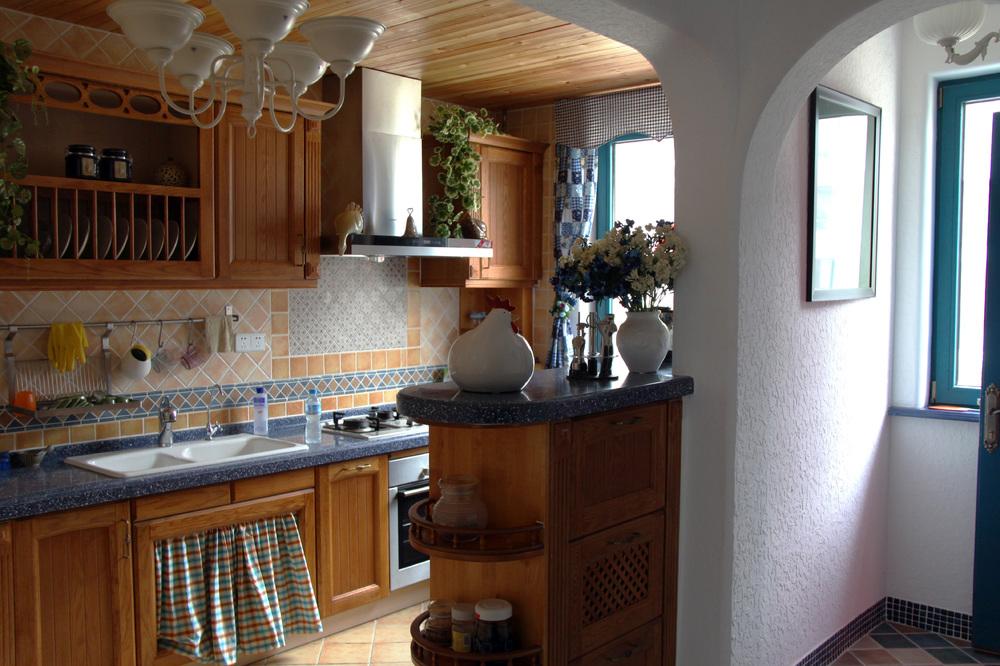三居 白领 收纳 旧房改造 80后 苹果装饰 地中海 别墅装修 长沙别墅 厨房图片来自苹果装饰公司在万国城地中海风格欣赏的分享