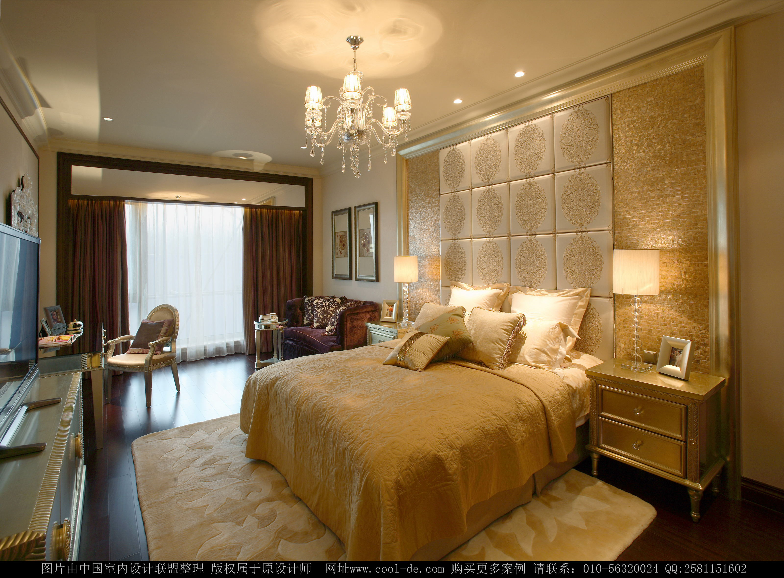 简约 欧式 别墅 卧室图片来自1043284585x在花水湾同福别墅的分享