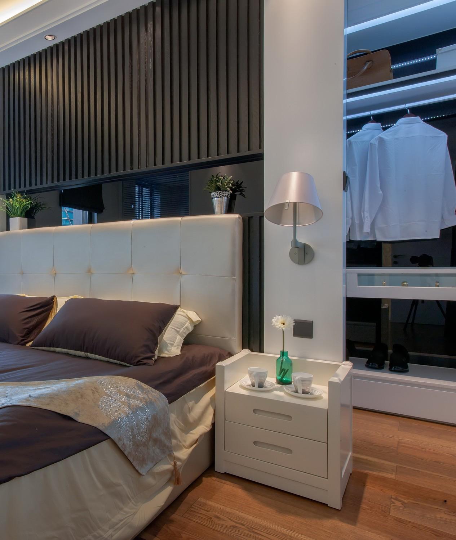 别墅 现代 智能 卧室图片来自小若爱雨在春晚珠箔飘灯归现代化别墅的分享