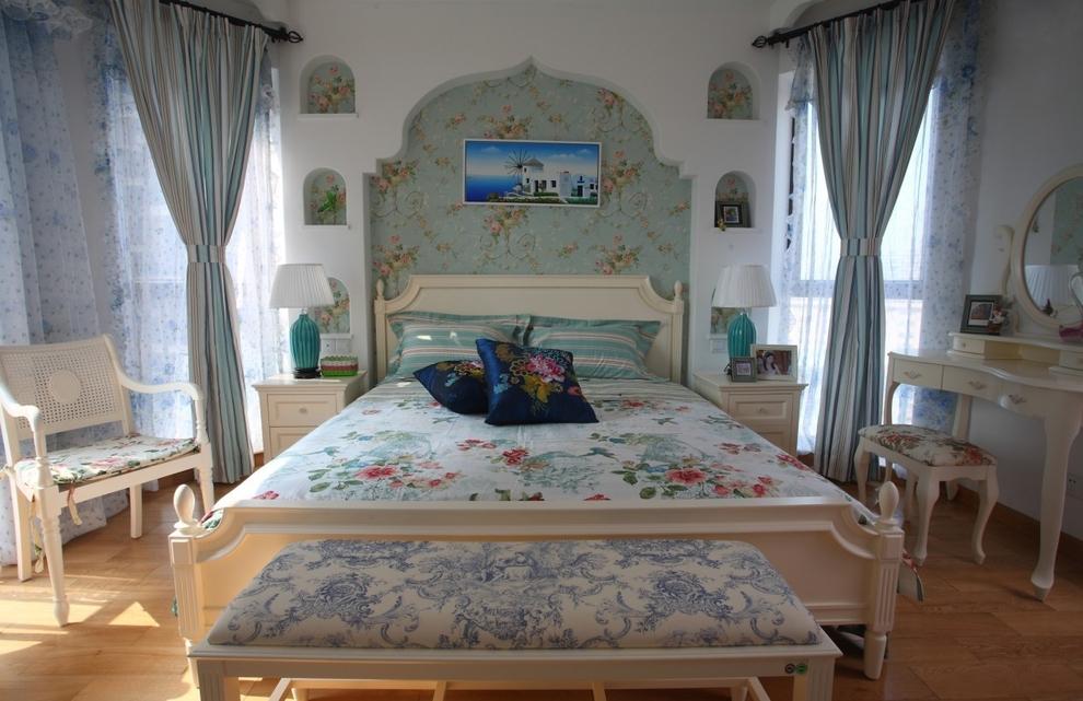 卧室图片来自石俊全在润泽公馆设计参考图的分享