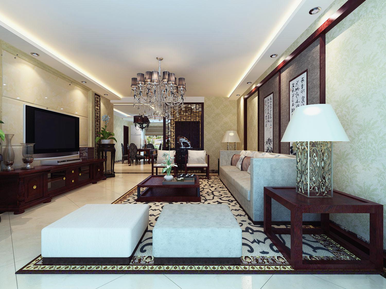 中式 客厅图片来自今朝装饰李海丹在中式风格领袖慧谷的分享