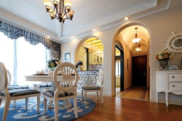 五居室 地中海 奢华 尊贵 客厅图片来自百合居装饰工程有限公司在地中海-铂雅苑的分享
