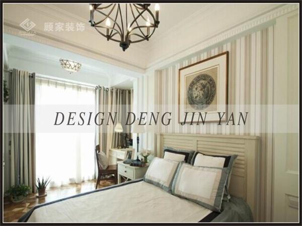 田园 美式 三居 装修 家装 效果图 卧室图片来自顾家装饰在龙天名俊的分享