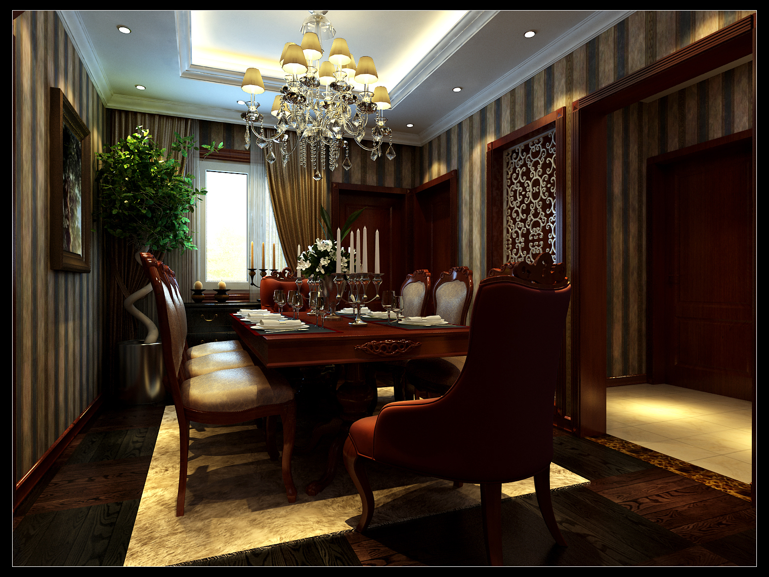 简约 餐厅图片来自今朝装饰李海丹在木樨地公寓的分享
