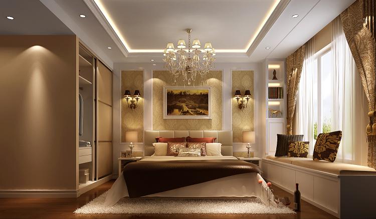 简欧 三居 80后 卧室图片来自高度国际宋书培在纳帕澜郡 三居室装饰效果图的分享