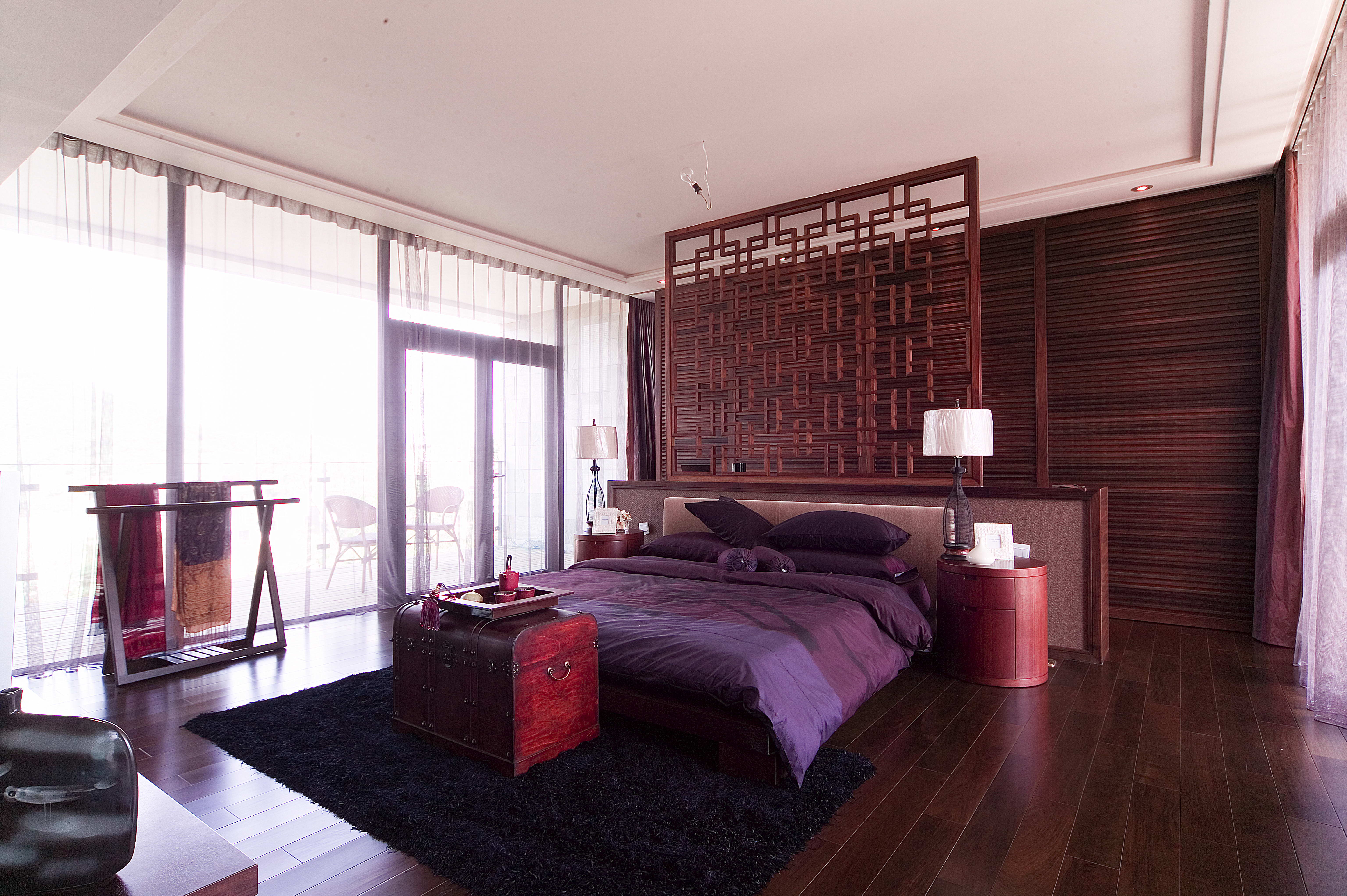 卧室图片来自用户1721279202在杭州浪漫河山新中式风格装修的分享