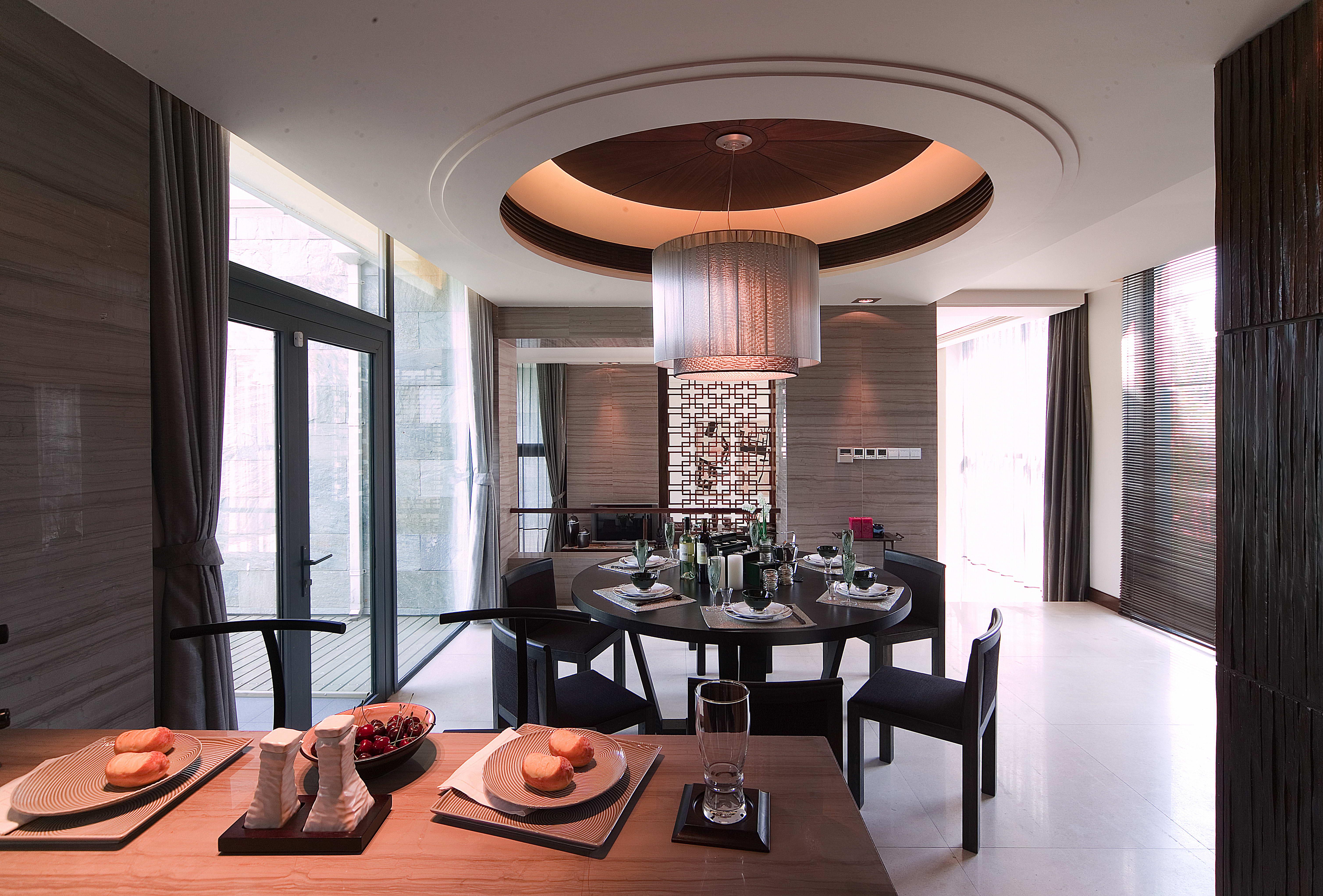 餐厅图片来自用户1721279202在杭州浪漫河山新中式风格装修的分享