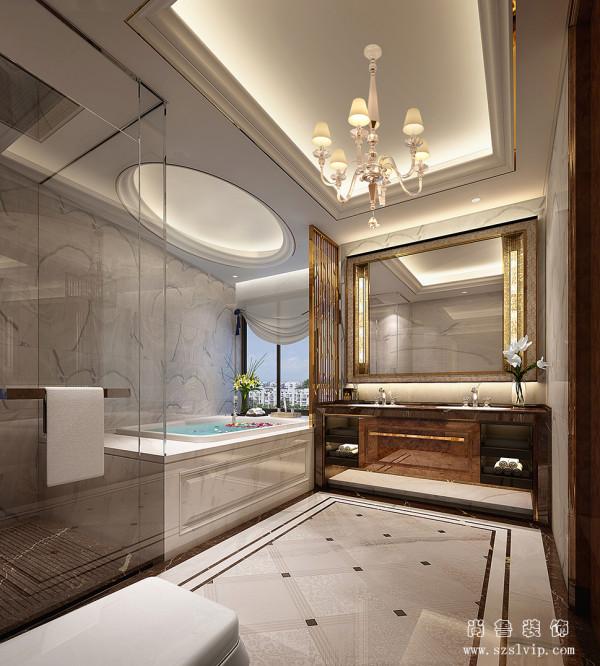 卫浴间设计效果图