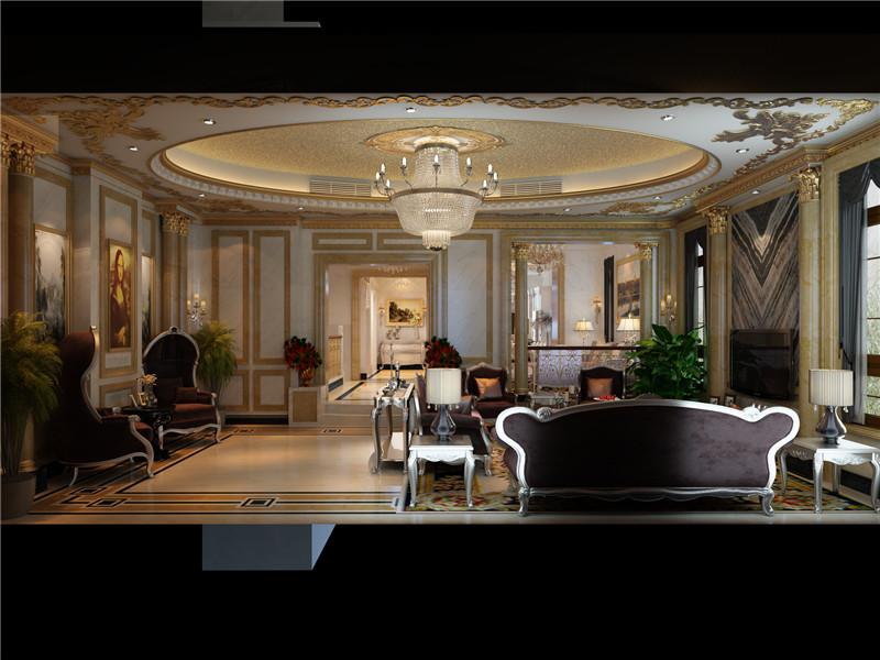 客厅图片来自石俊全在效果图远洋天著的分享