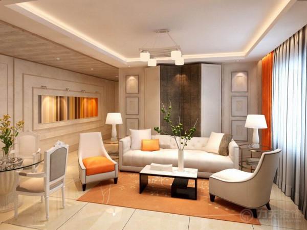 本案为祈年大厦标准户型户型2室2厅1卫1厨119.4㎡的户型。这次的设计风格定义为现代风格。