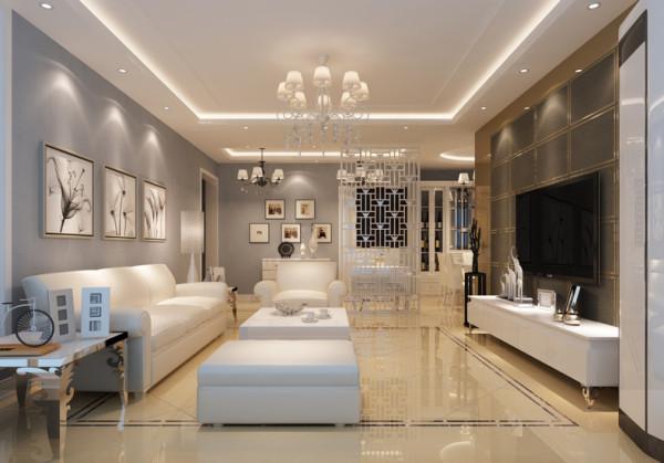 该户型金海湾花园3室2厅2卫1厨 ,方正、明亮是适于设计。我的设计风格是简约风格。