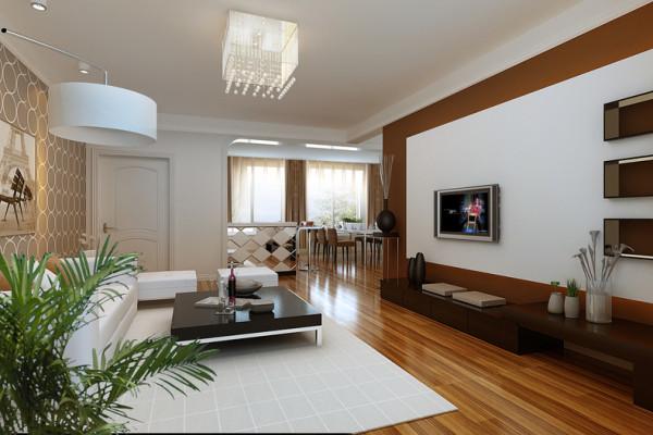该户型盛世嘉园3室2厅1卫1厨,方正、明亮是适于设计。我的设计风格是简约风格。
