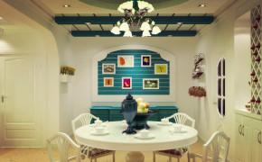 简约 田园 三居 白领 收纳 80后 小资 地中海 小清新 餐厅图片来自xiaoxiaoxi在地中海清新的分享