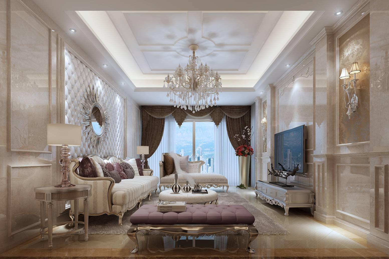 客厅图片来自福州有家装饰-小彭在中天金海岸的分享