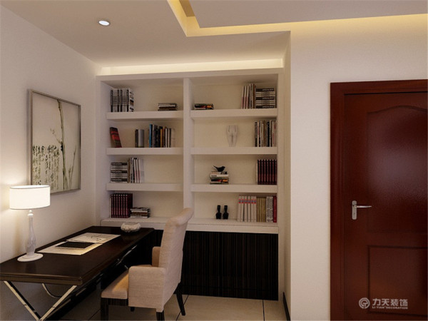 业主喜欢新中式风格,需要钢琴曲和办公区。本套案例中式元素与现代材质的巧妙结合,再现了精致小巧的中国式韵味。新中式性价比高又不流失中式文化传统,简化了线条勾勒出一幅美丽的风景。