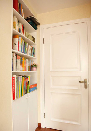 简约 美式 白领 雅致 温馨 书房图片来自佰辰生活装饰在89.3平三室美式温馨空间的分享