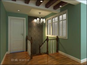 新古典 复式 80后 小资 楼梯图片来自北京老房装修-今朝装饰王丽在青年城欧式新古典任性到底的分享