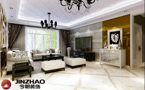 港式风格的装修中,客厅的以黄色为主调,展现一个休闲的氛围,电视墙处理相当简洁而富品味,色调古旧的电视柜是客厅的焦点所在,客厅中自然的木质色调使居室充满休闲的氛围,是快节奏都市生活的休憩的港湾。