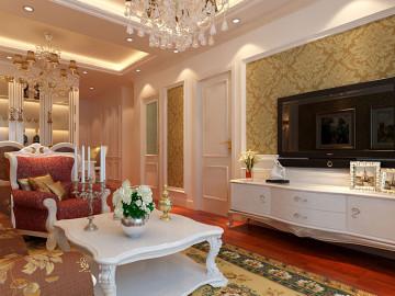 长阳国际城--90㎡一居室新古典风