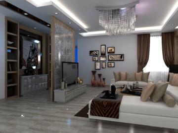 中海城-150㎡一居室--现代简约