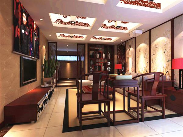 整个设计风格稳重中散发着优雅的情愫,注有中国风情,自然温暖而觉有庄重感。