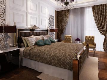 金色漫香林--新古典装饰效果图