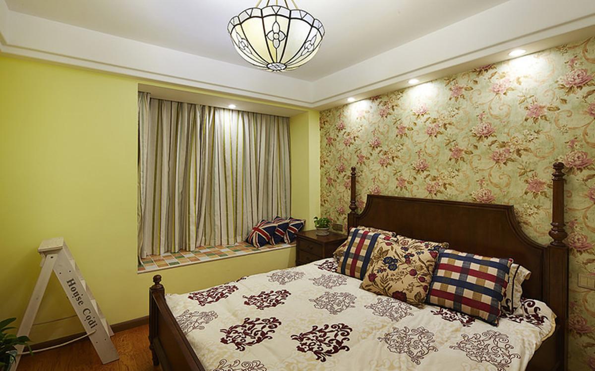 田园 二居 小资 80后 白领 地中海 小清新 卧室图片来自2786584496x在田园三居的分享
