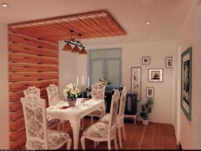 三居 田园 80后 现代田园 小清新 自然舒适 餐厅图片来自实创装饰都琳在首开熙悦山—三居室现代田园风格的分享
