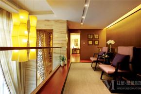 中式 别墅 白领 保利198 楼梯图片来自尚品老木匠装饰在保利198-新中式风格的分享